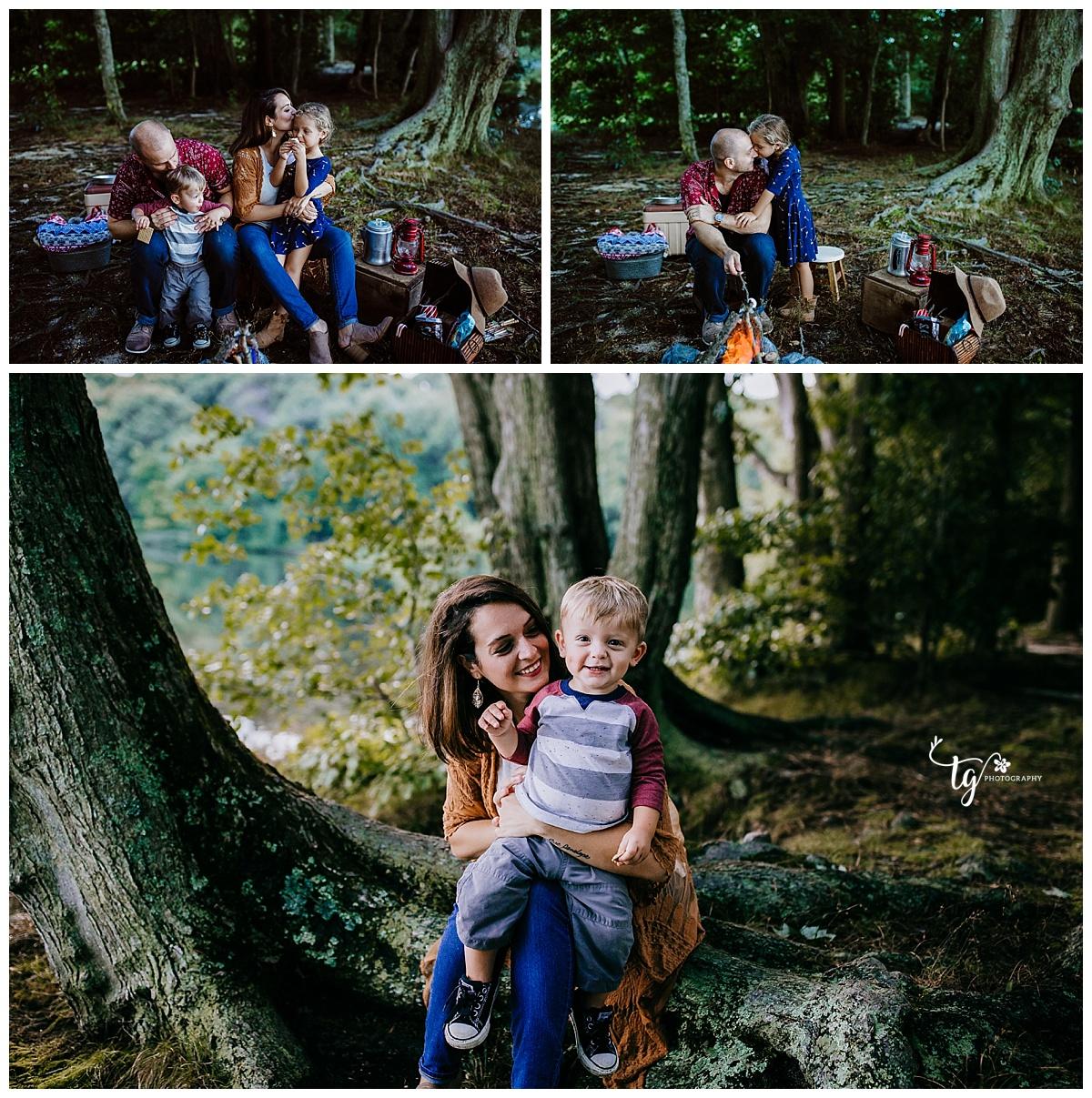 natural and organic family photos