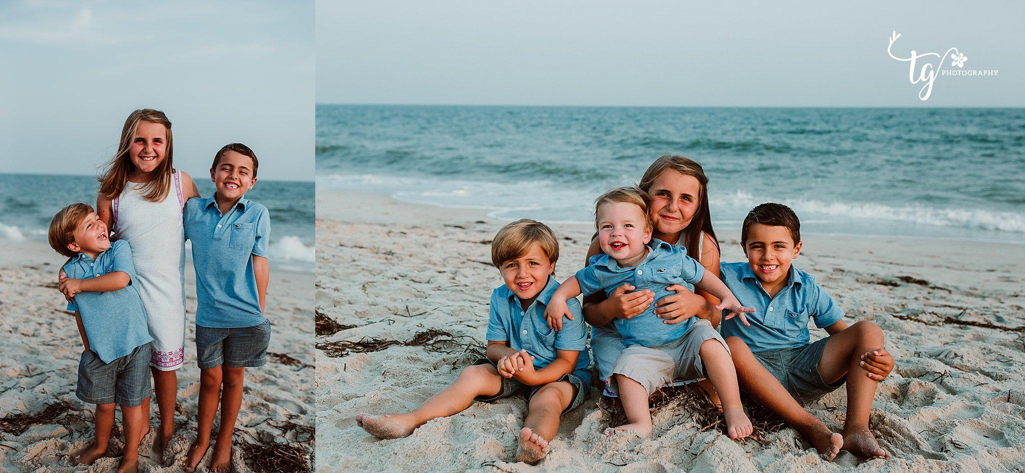 Fire Island family photographer