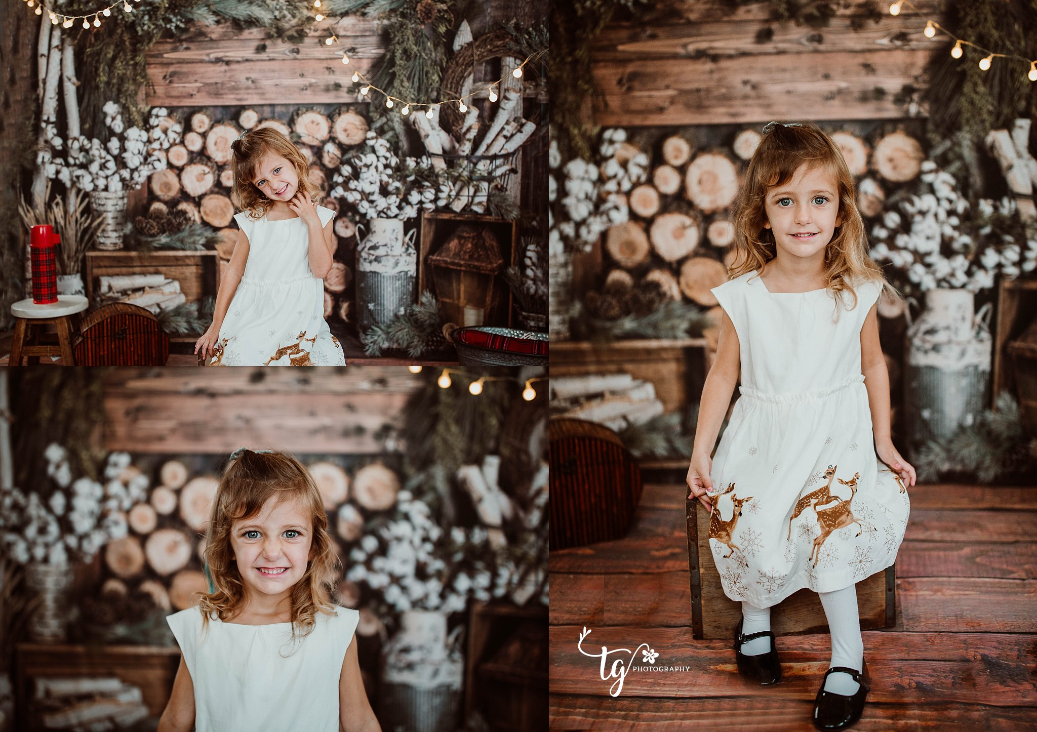 Long Island children's holiday mini sessions