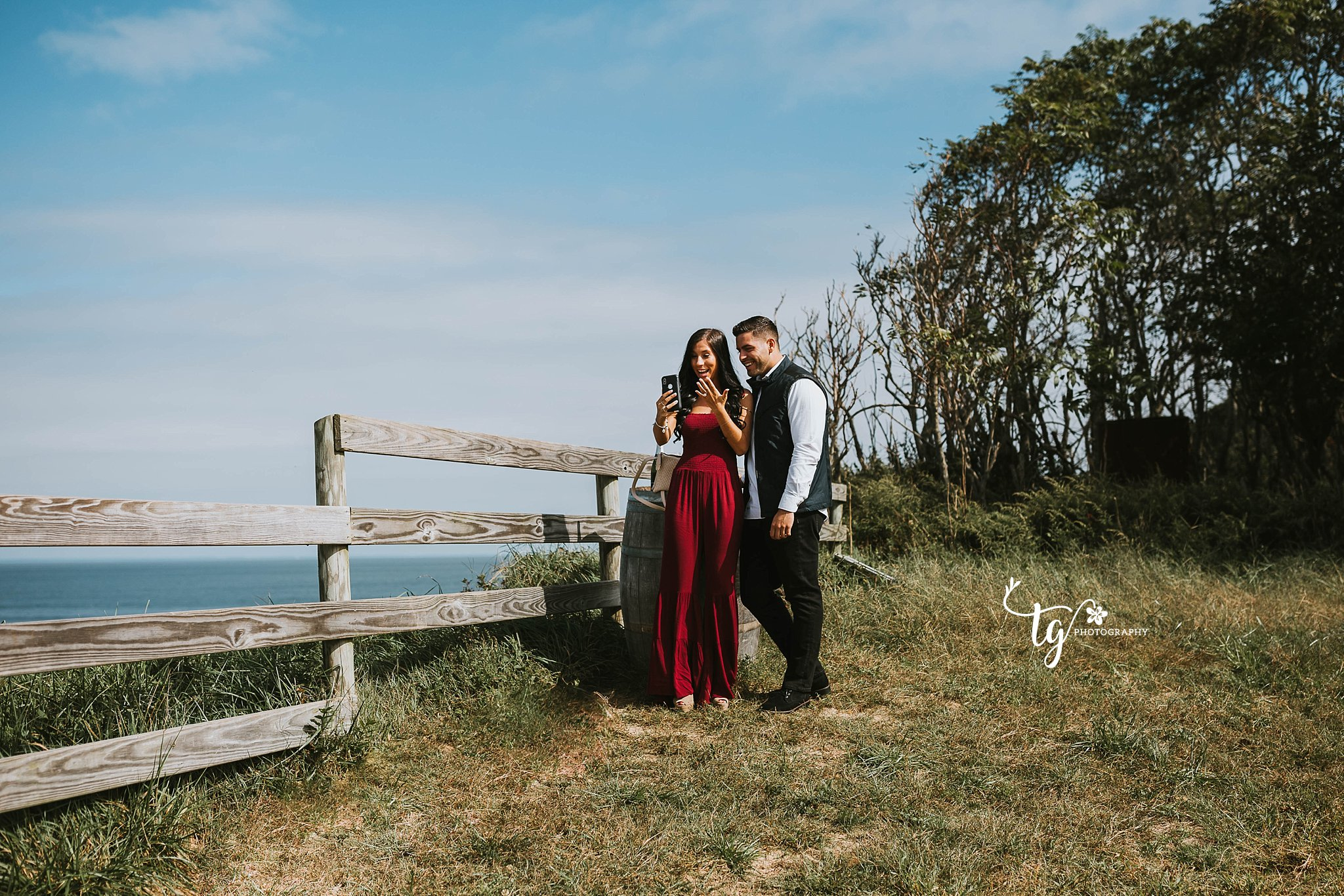 Long Island secret proposal photographer