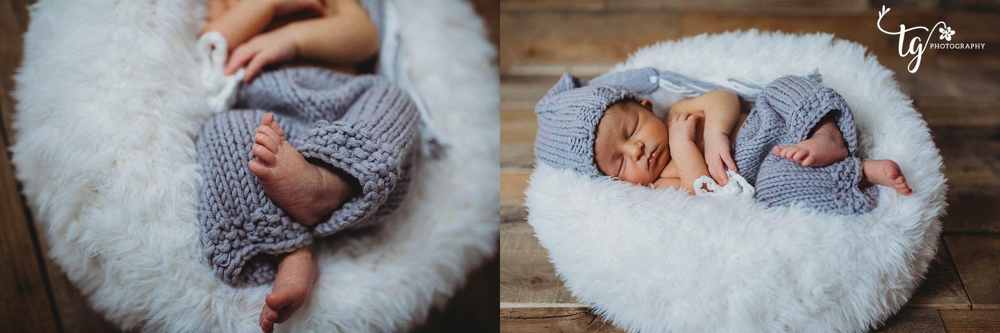 wood backdrop studio newborn photography
