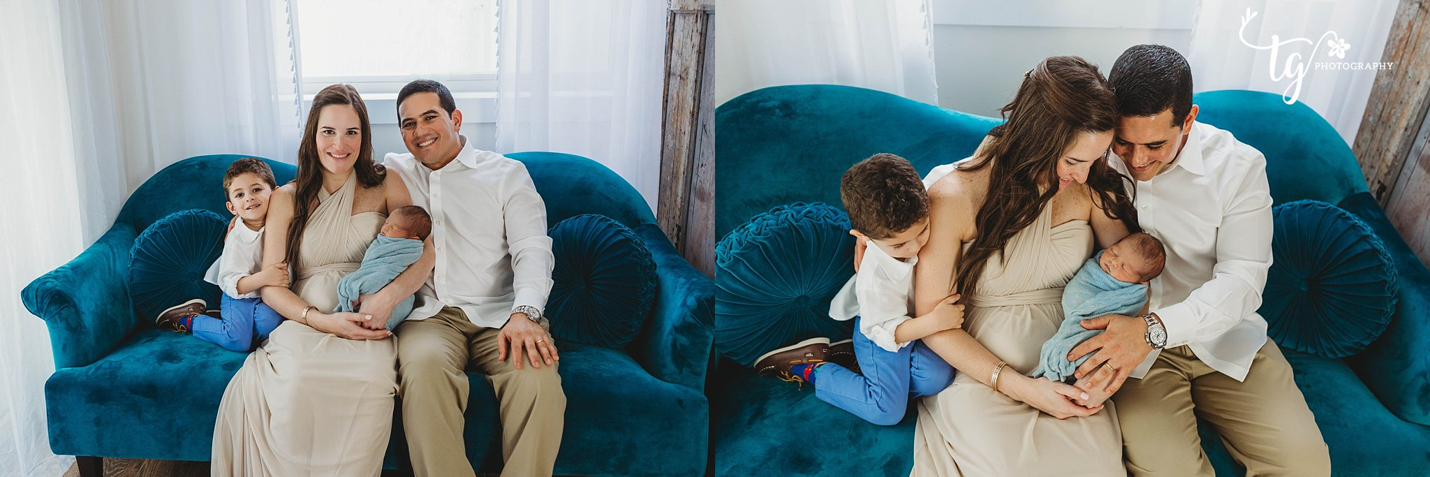 natural and classic family baby photographer