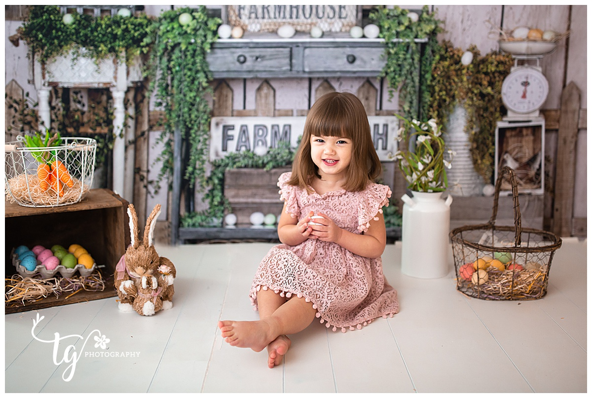 spring mini session photographer for children