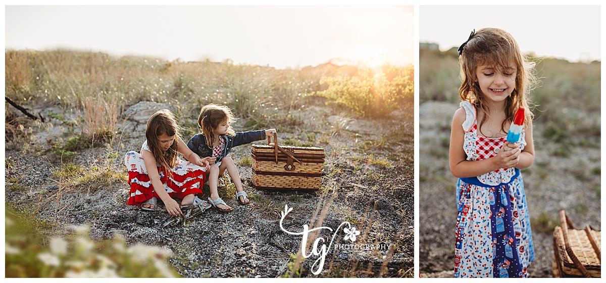 photographer for family sunset photos