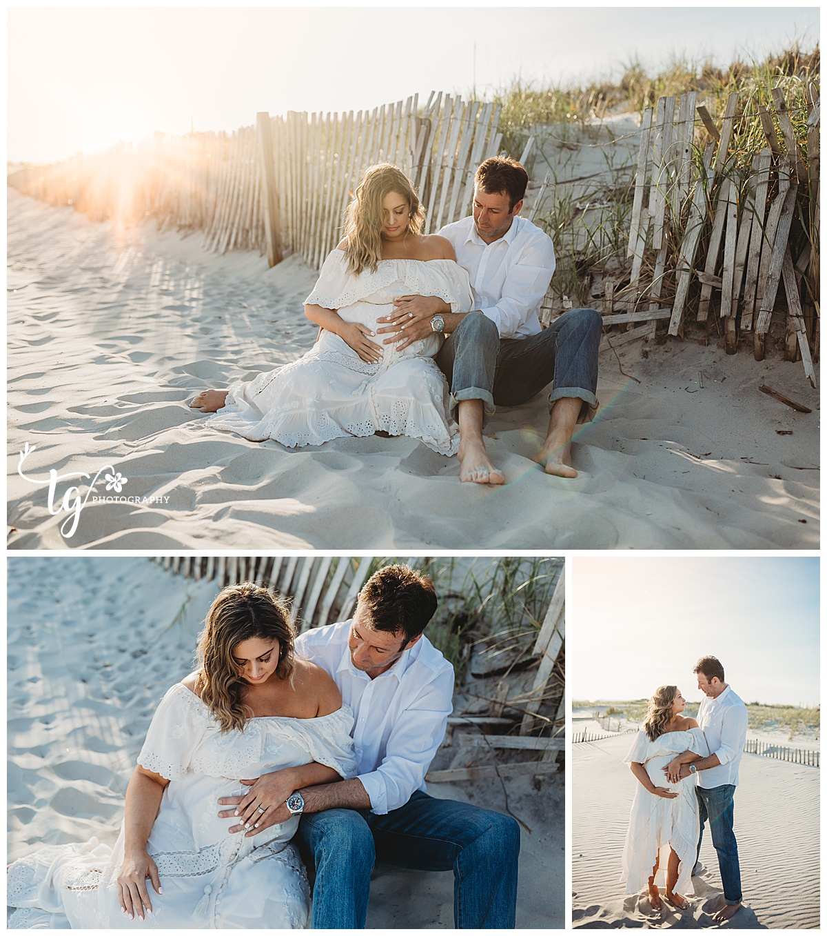 photographer for maternity pictures on the beach