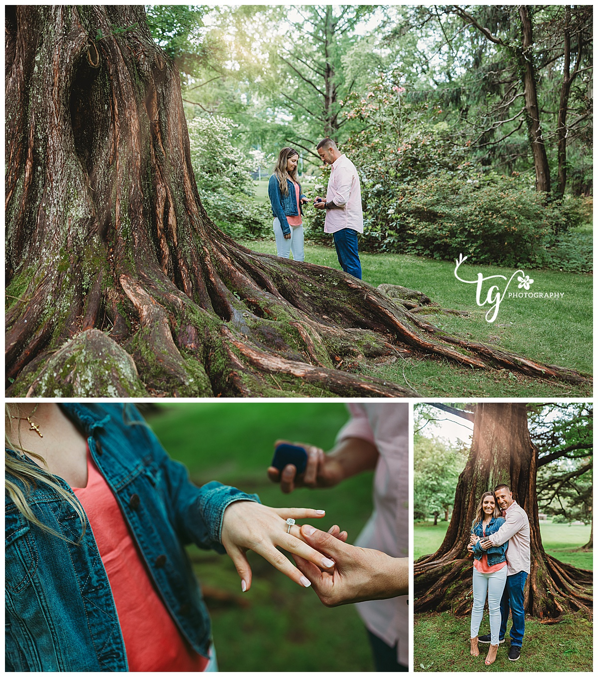 Mattituck surprise engagement session