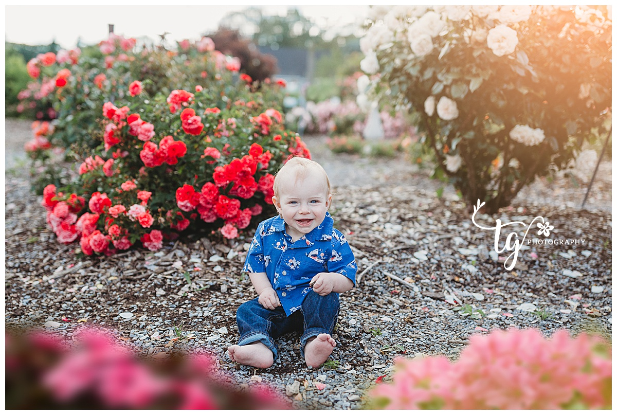photographer for outdoor natural first birthday photos