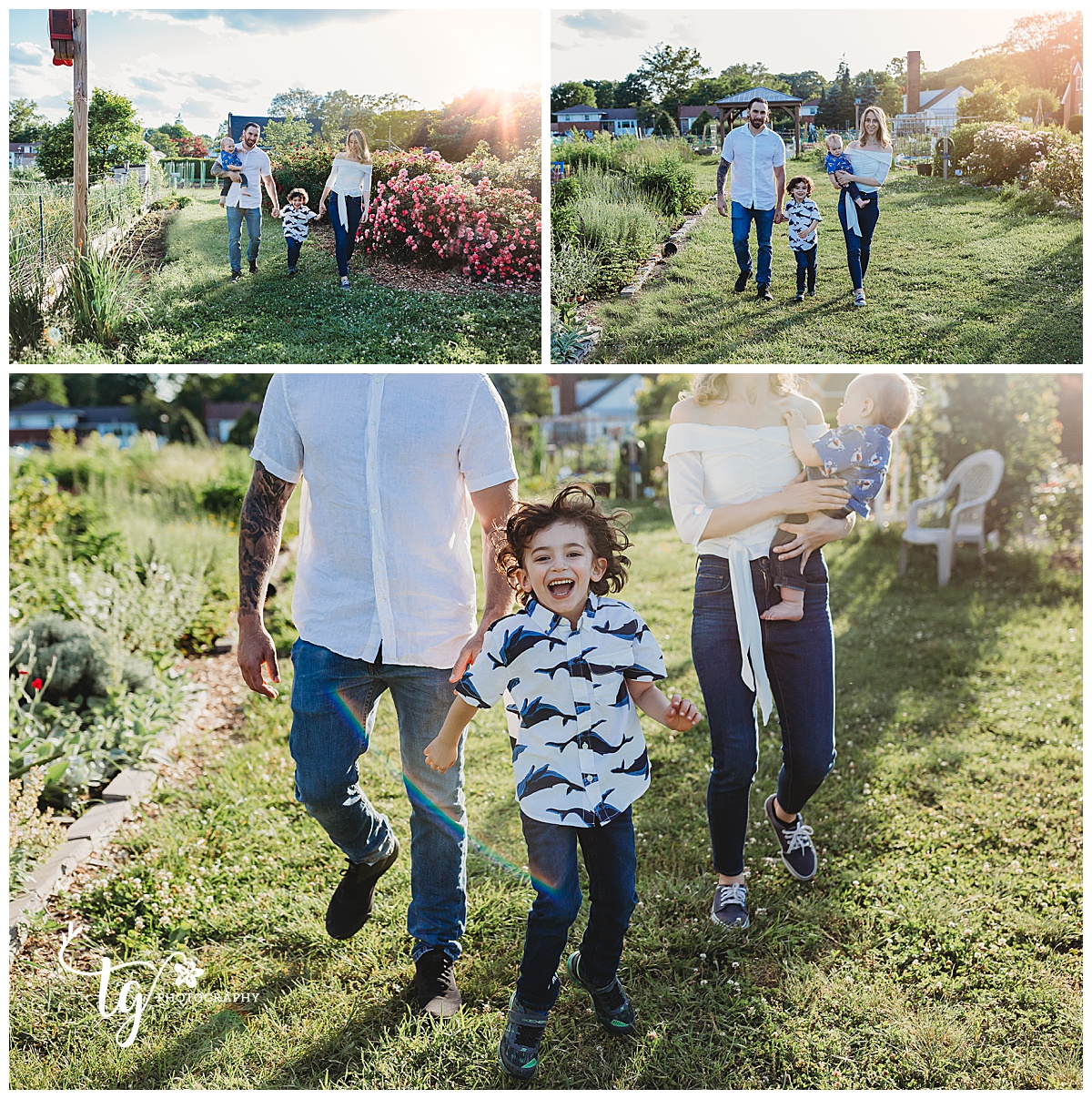 fun and relaxed family photographer