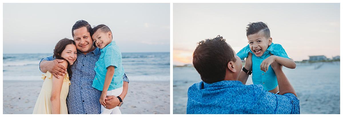 photographer for family photos on the beach