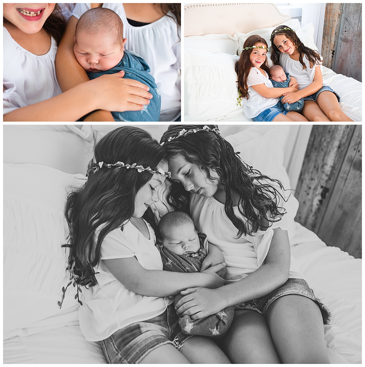 natural and classic newborn photography