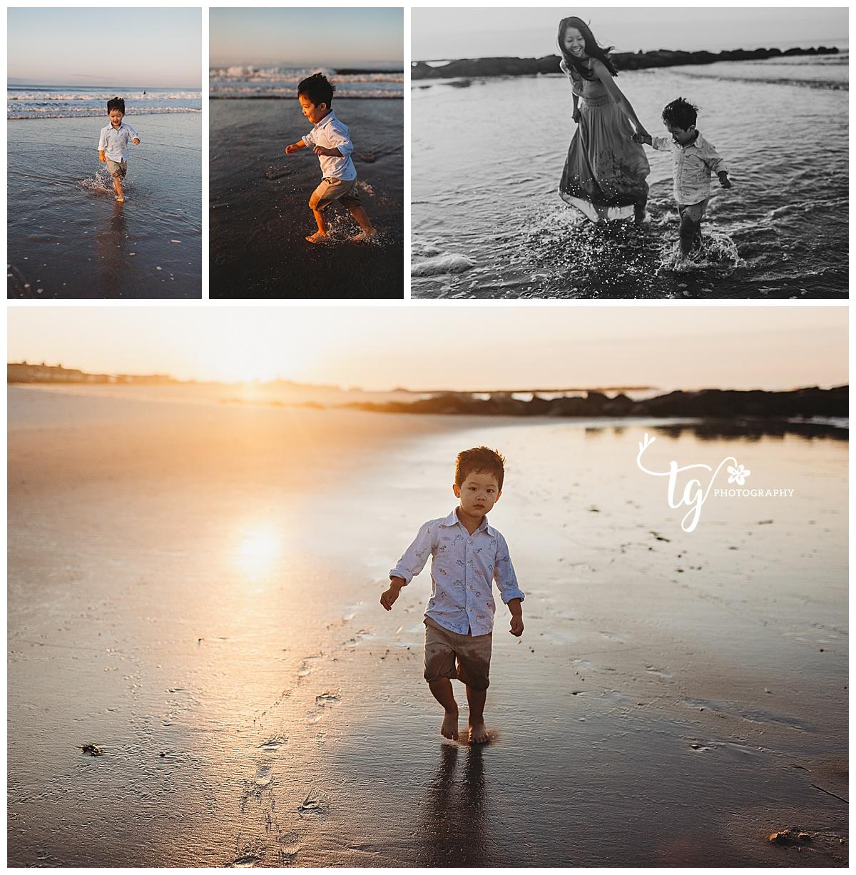 beach mini session photographer