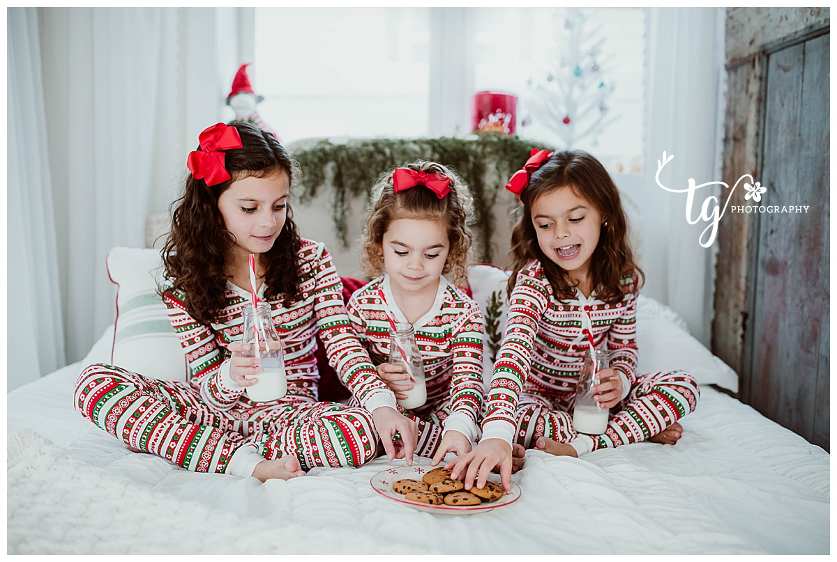 vintage styled holiday session