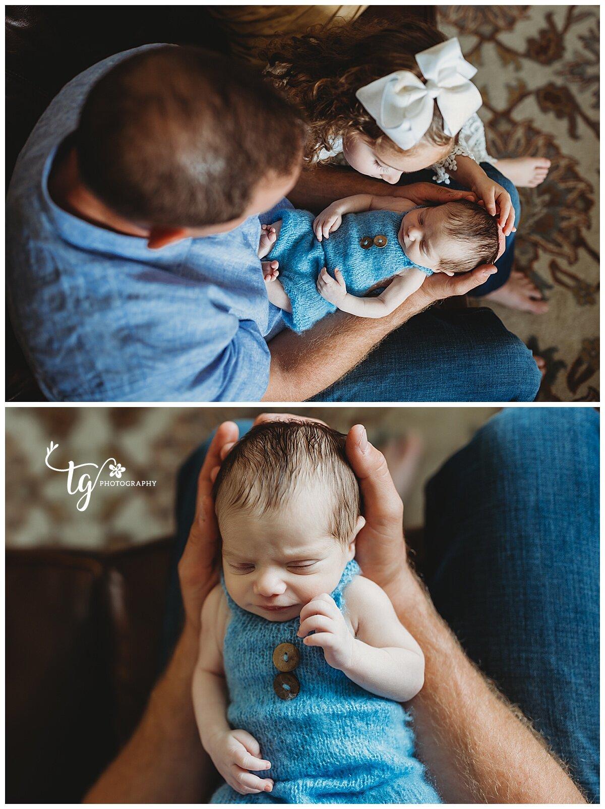 personal and unique newborn photographer