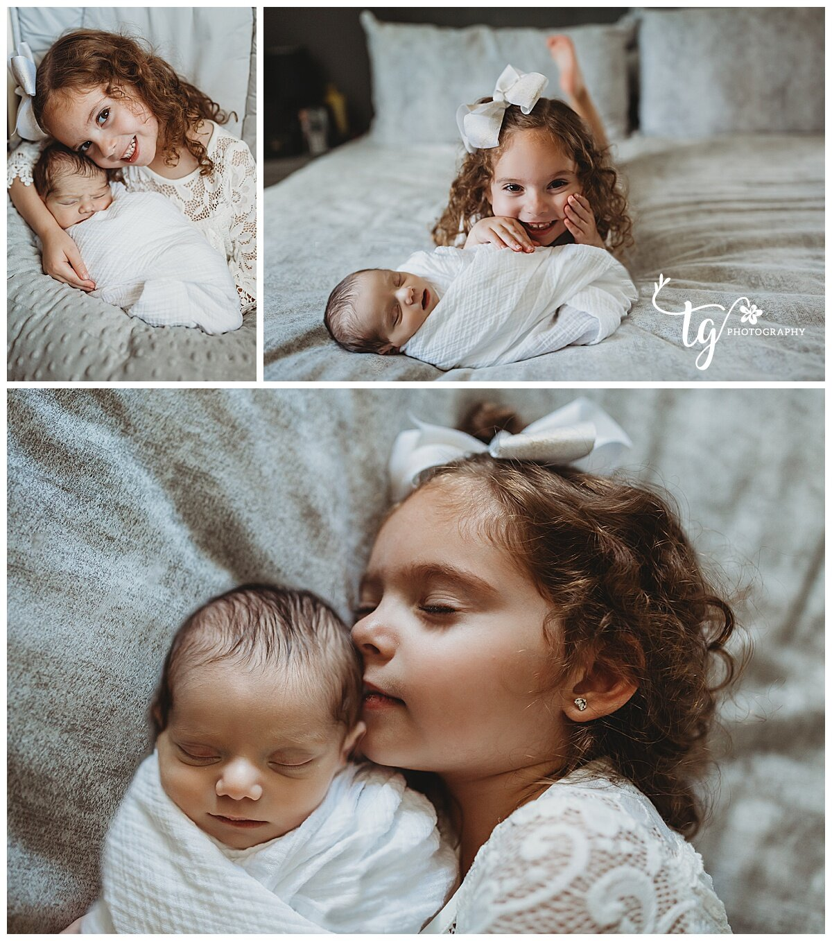 newborn photographer for photos with siblings