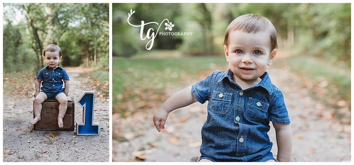 outdoor first birthday session