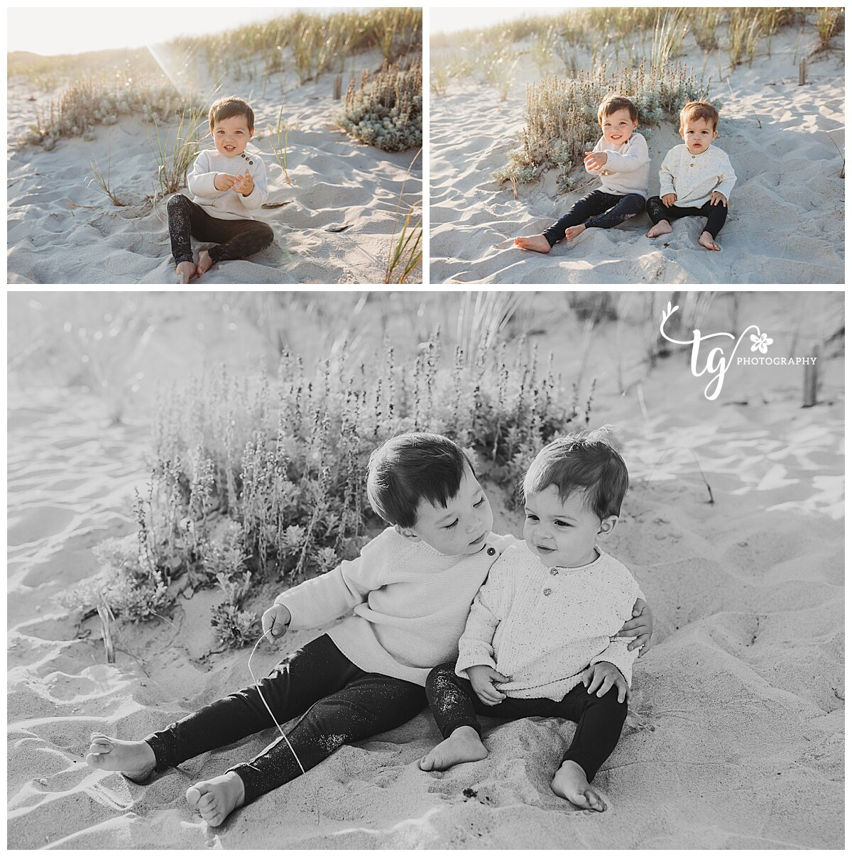 photo session with cousins