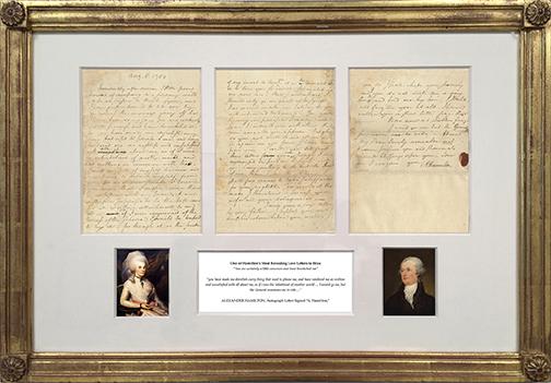 kaller24329 Hamilton's Love Letter to Eliza framed.jpg