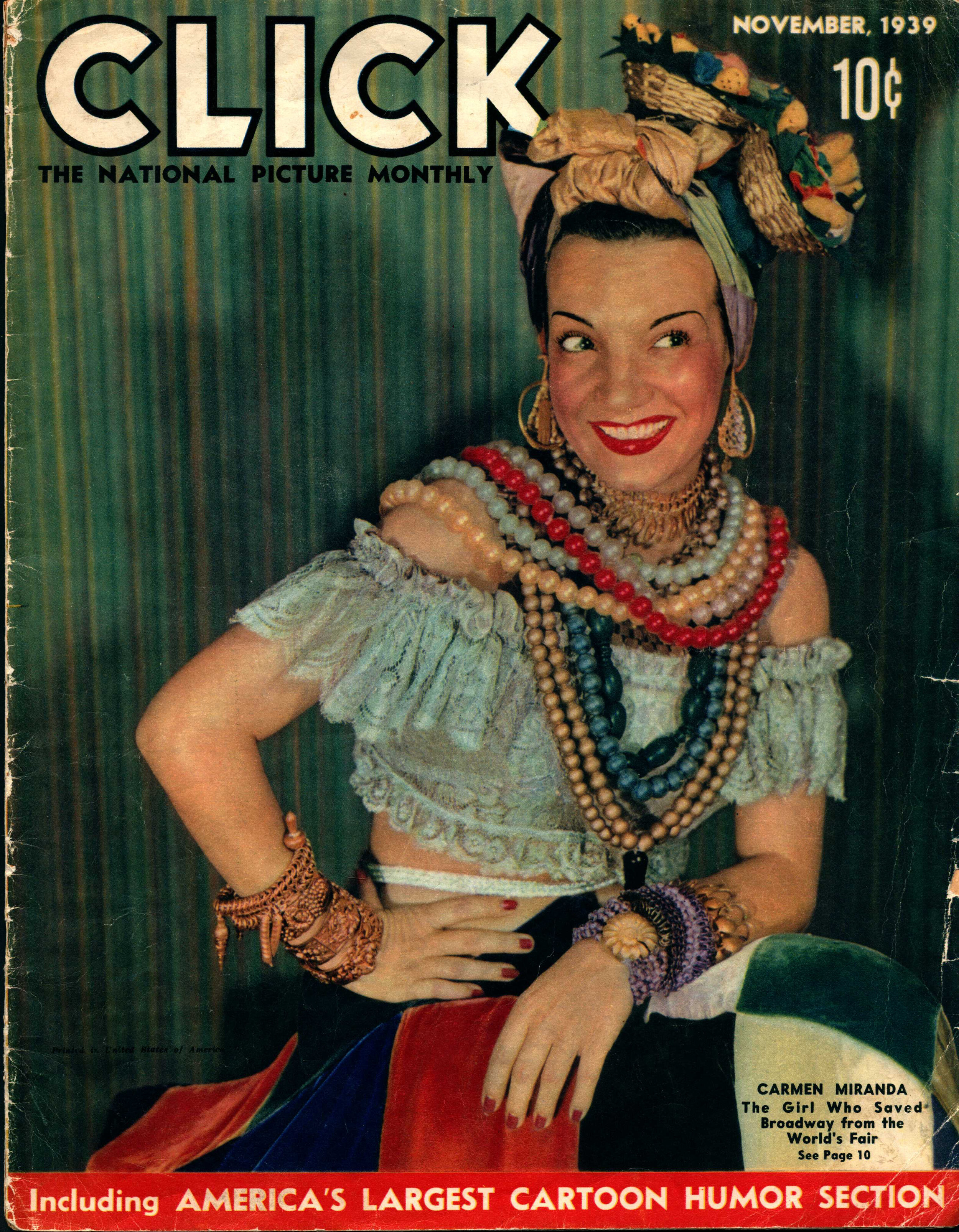 4. CM on the cover of CLICK mag nov 1939.jpg