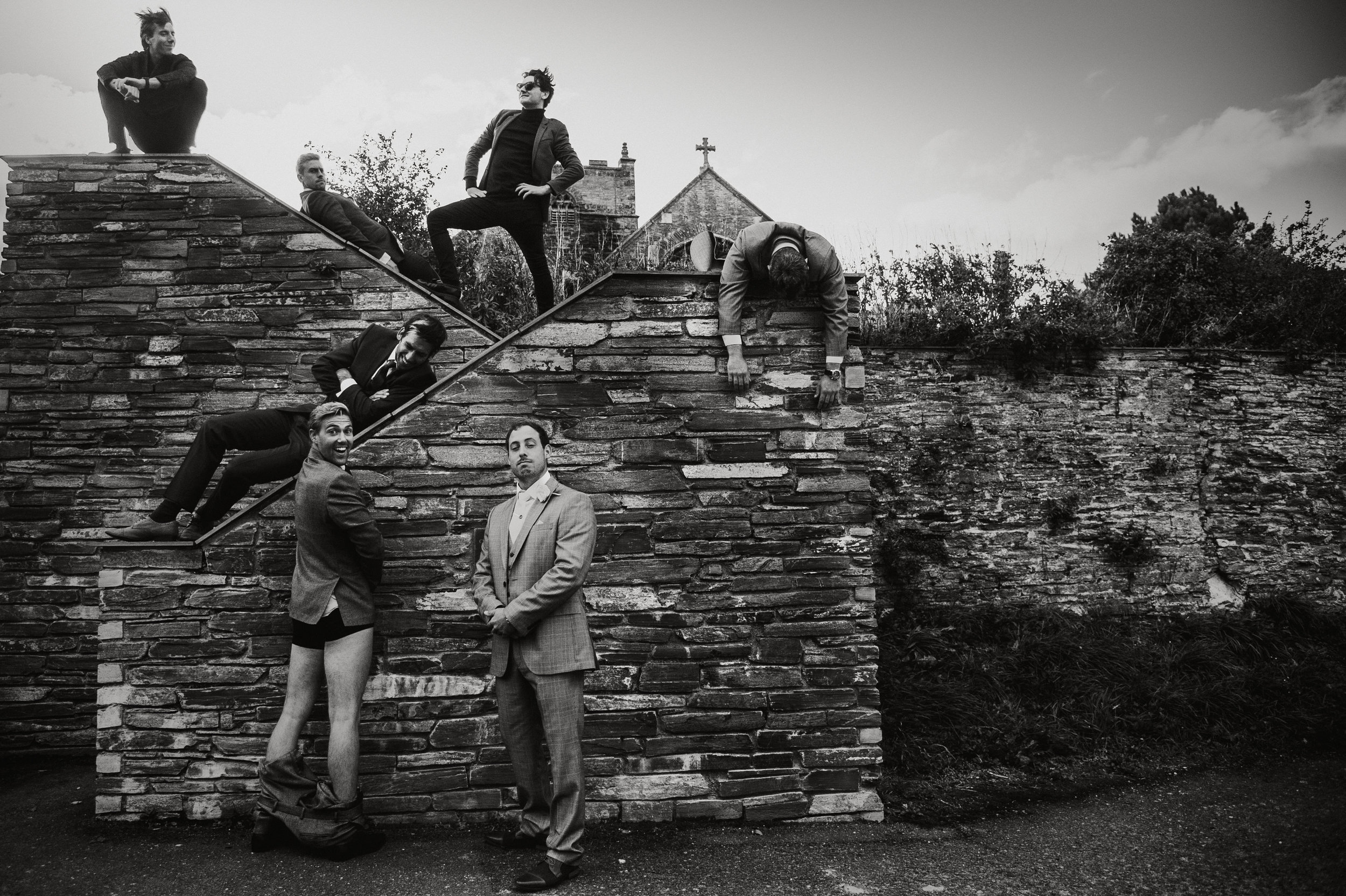 I always photograph wedding groups and these can be fun, classic posed, whatever floats your boat :)