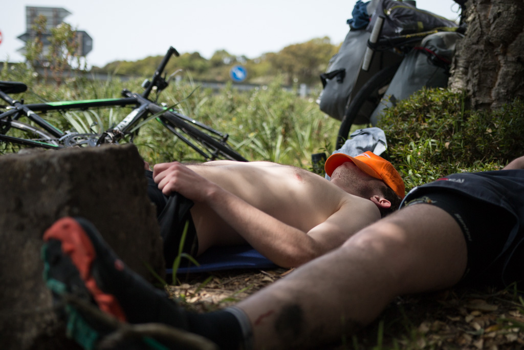 © Harry Crotty: Another part of continental integration, the siesta, seen here being perfectly executed by Luke