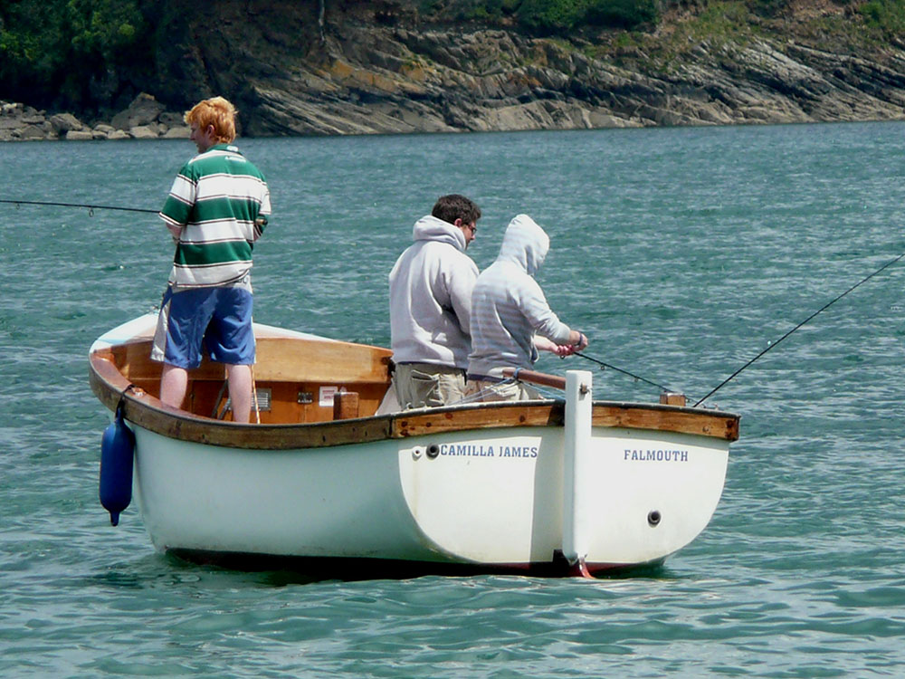 camilla james, our fishing boat
