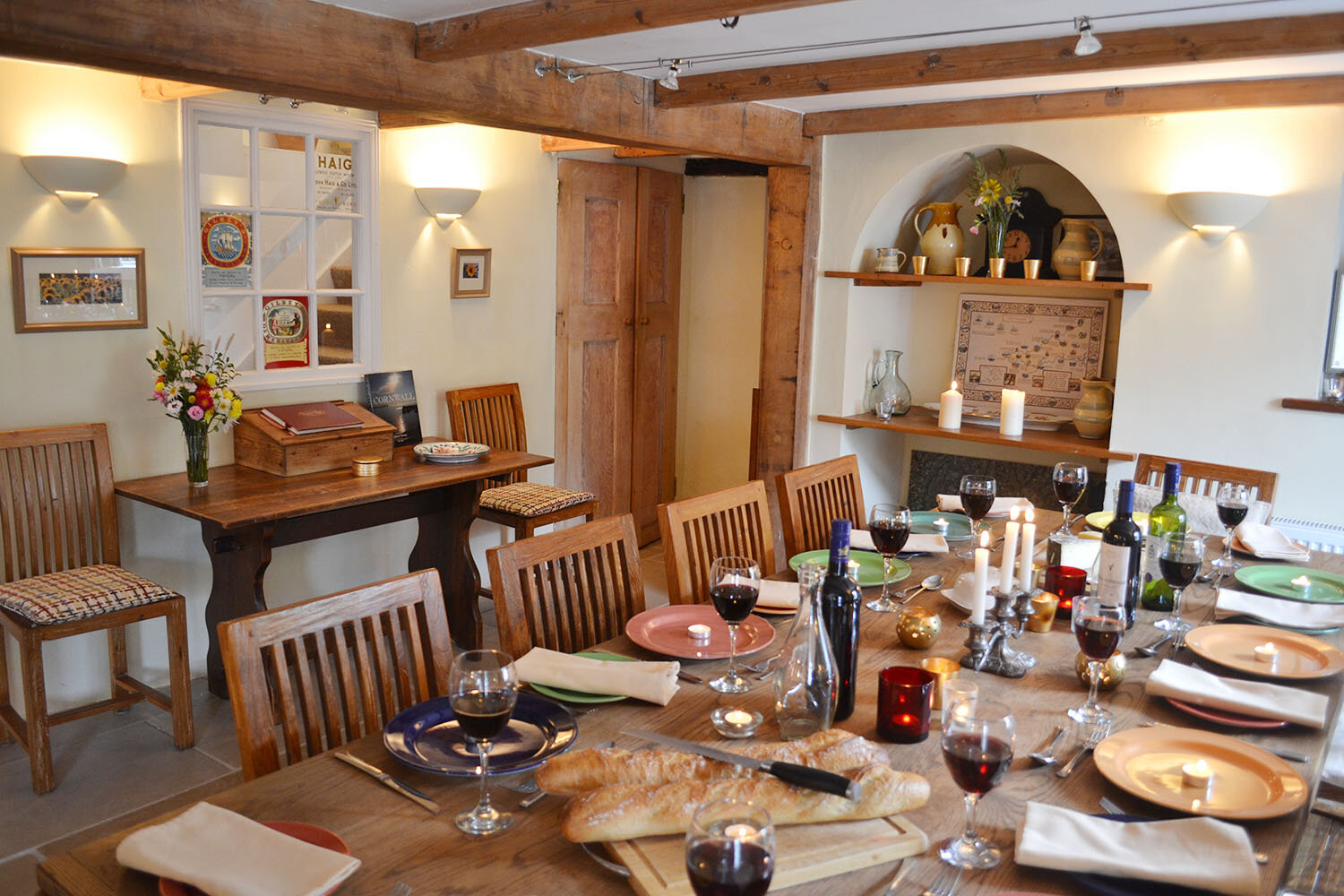 The Dining Room at Helford
