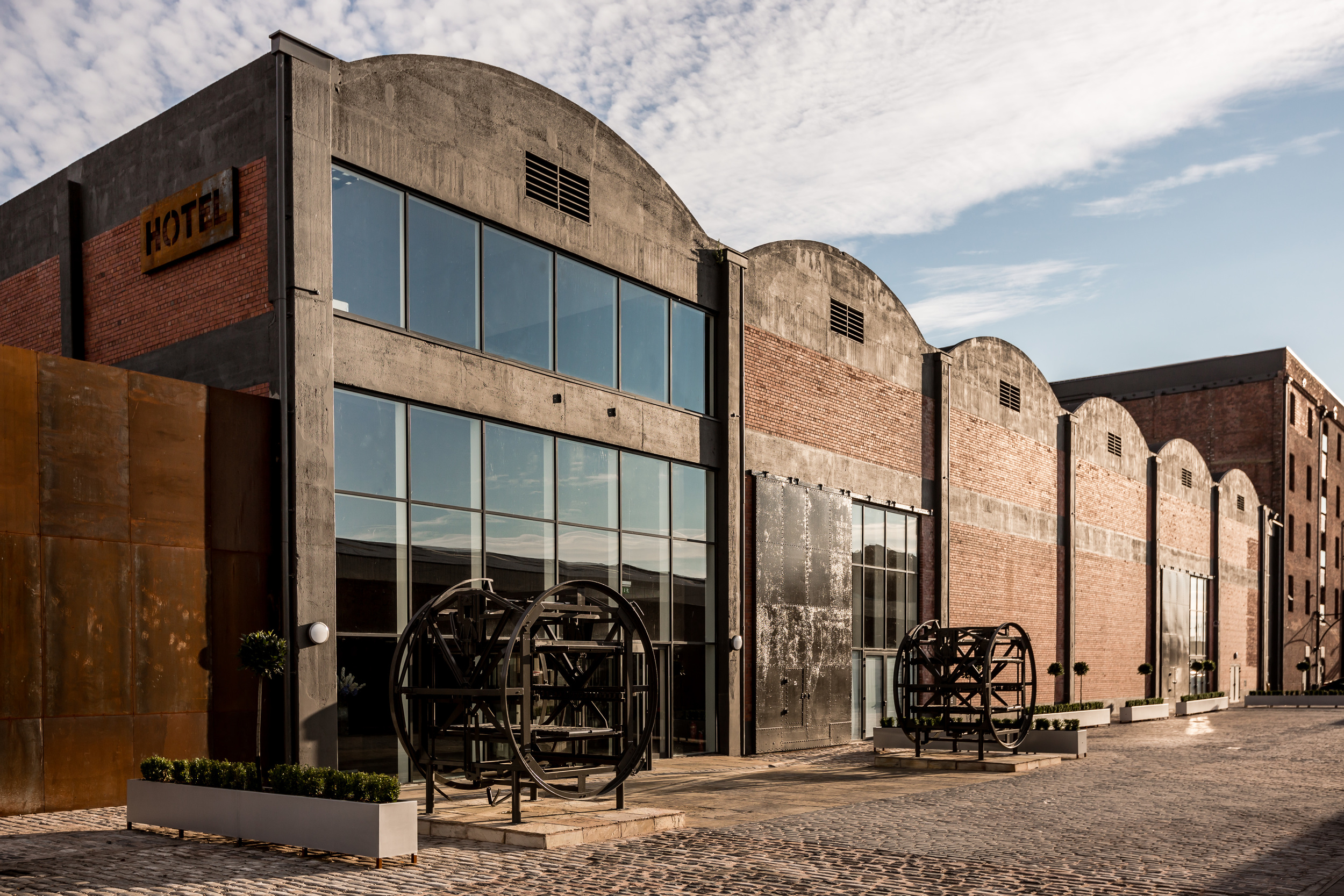 The Rum Warehouse event space in Liverpool's Stanley Dock