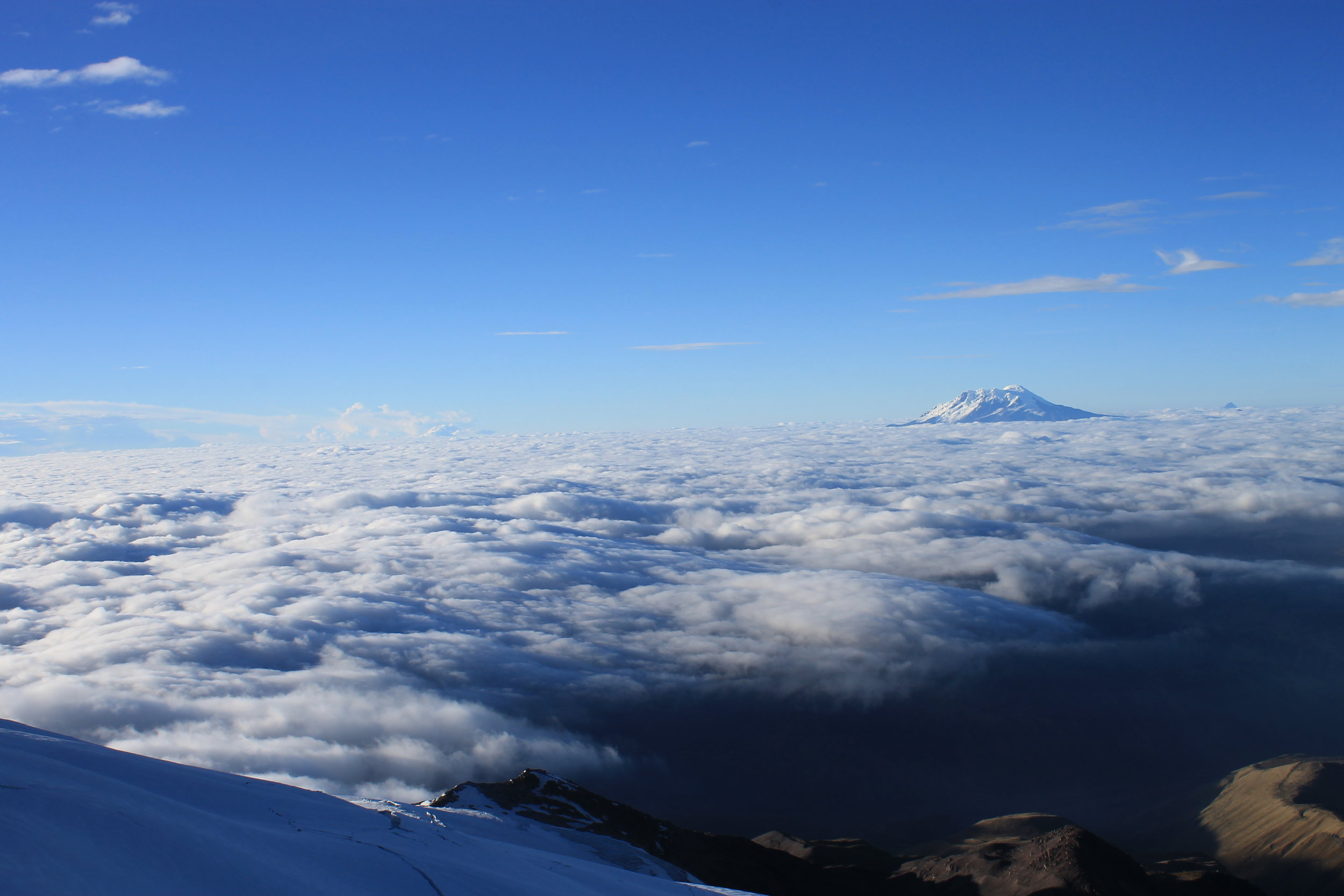 Ecuador Volcanoes    Climb above the clouds with NRMG