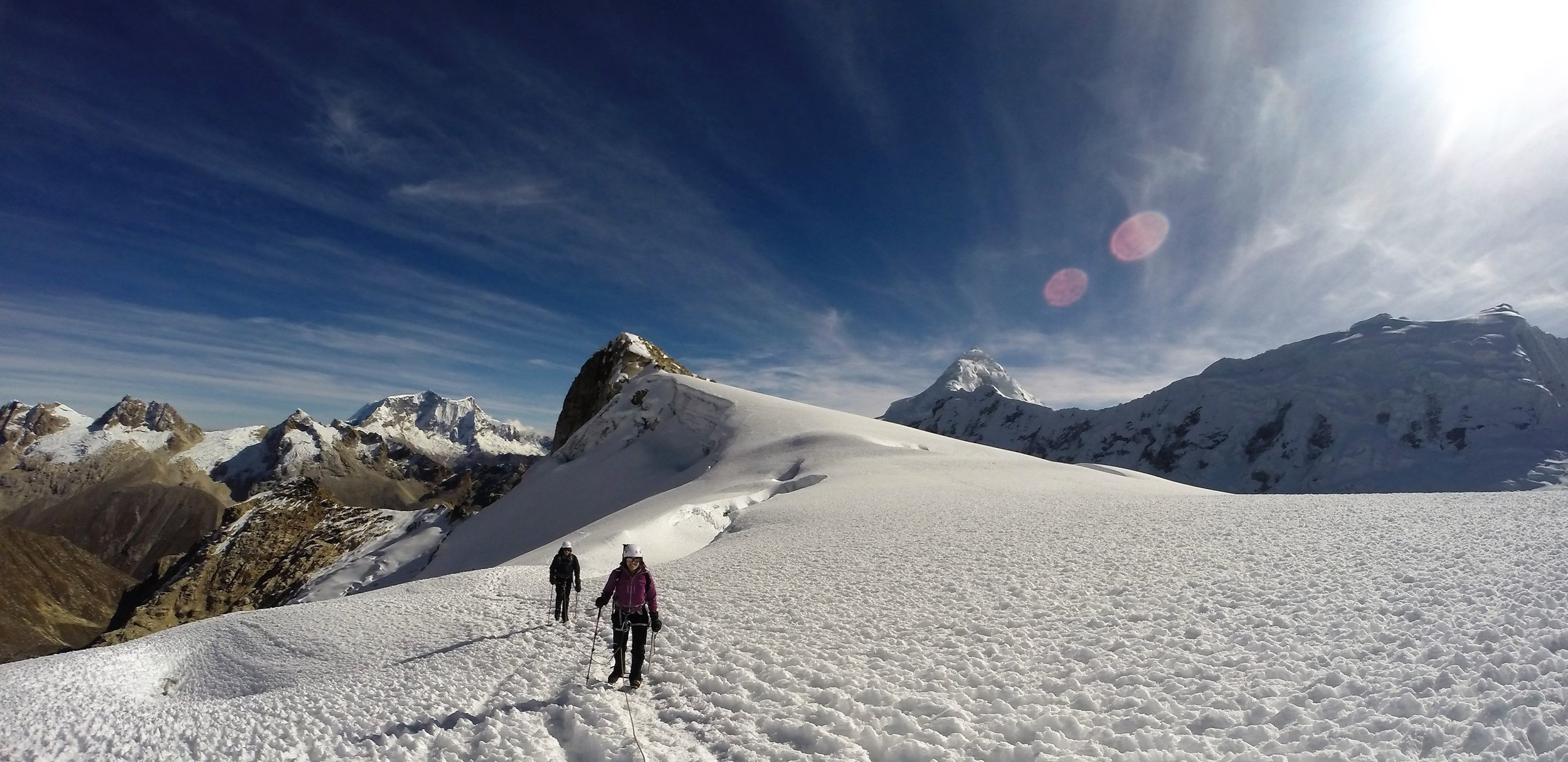 Peru Expedition   Climb the stunning Ishinca Massif
