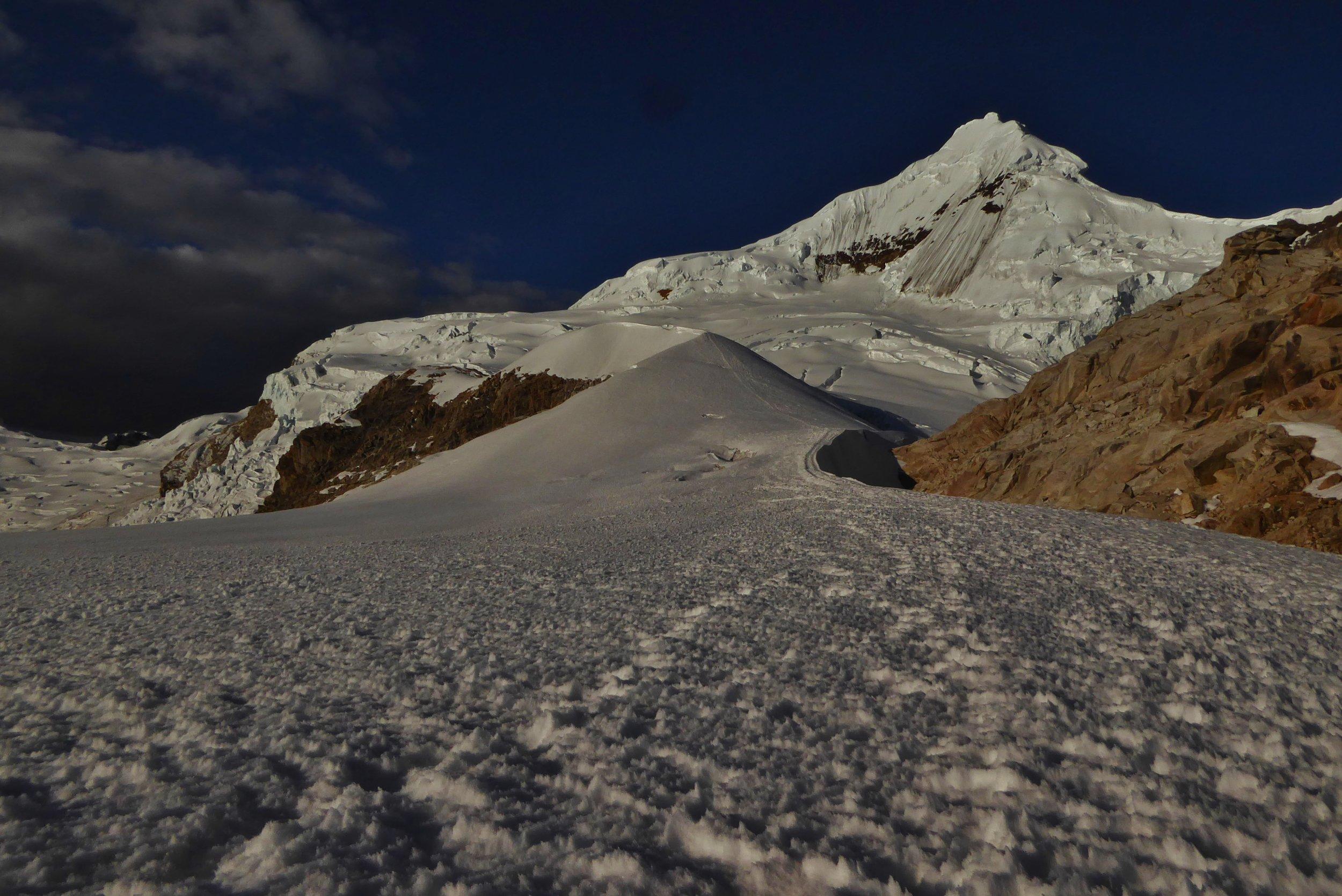 Peru Expedition   Climb Tocllaraju at 19,796ft