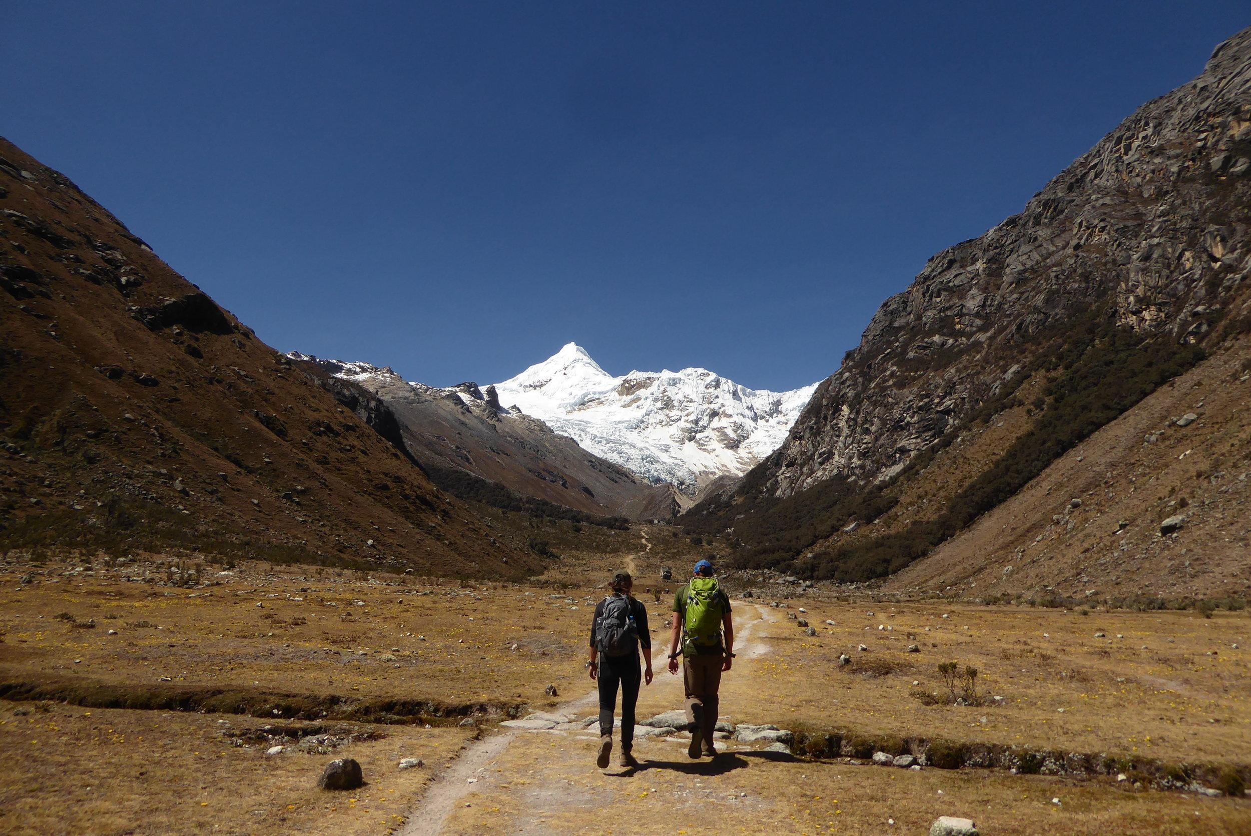 Peru Expedtion   Trek through the Cordillera Blanca