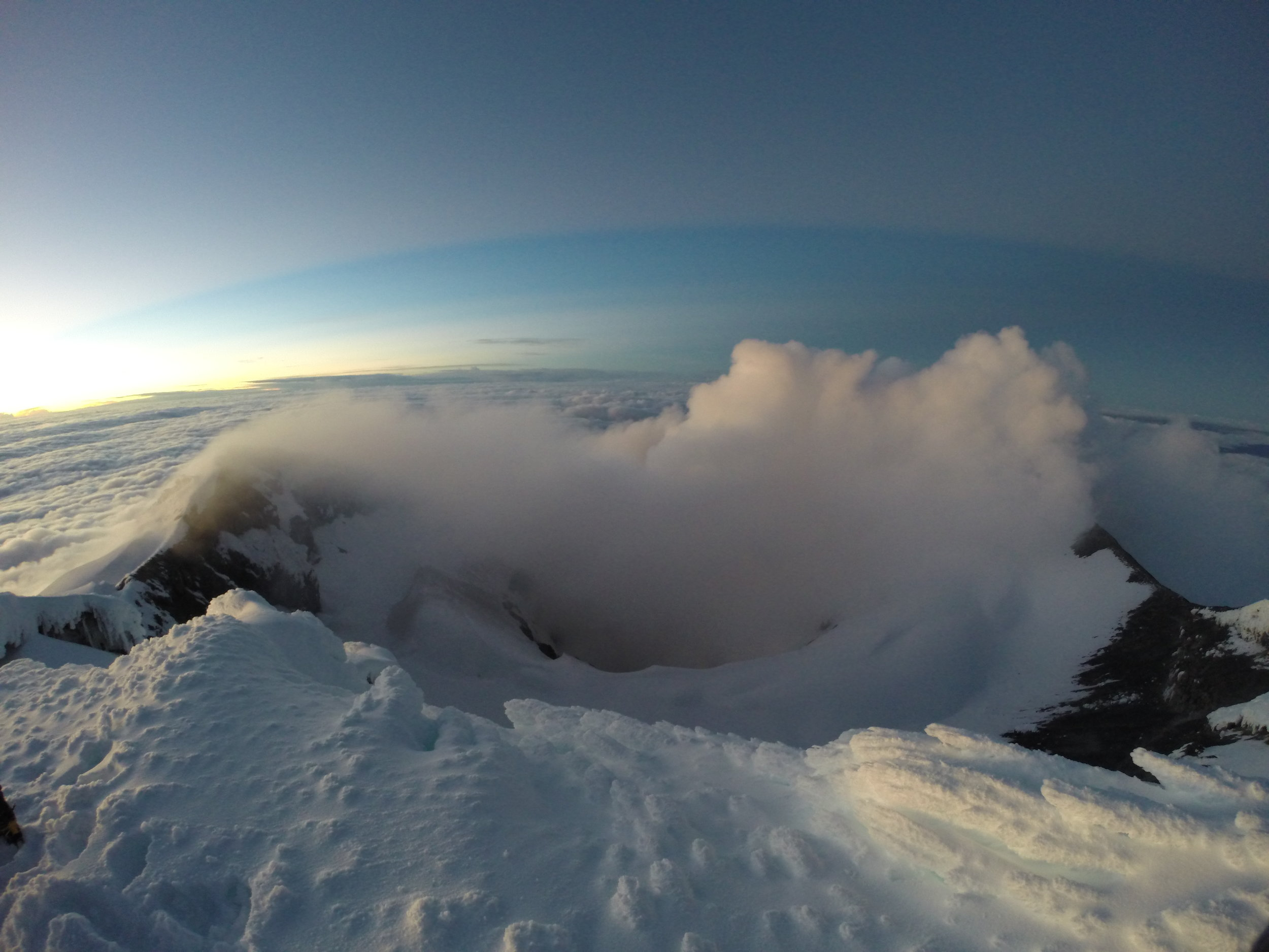 Ecuador Volcanoes    Experience a summit like no other