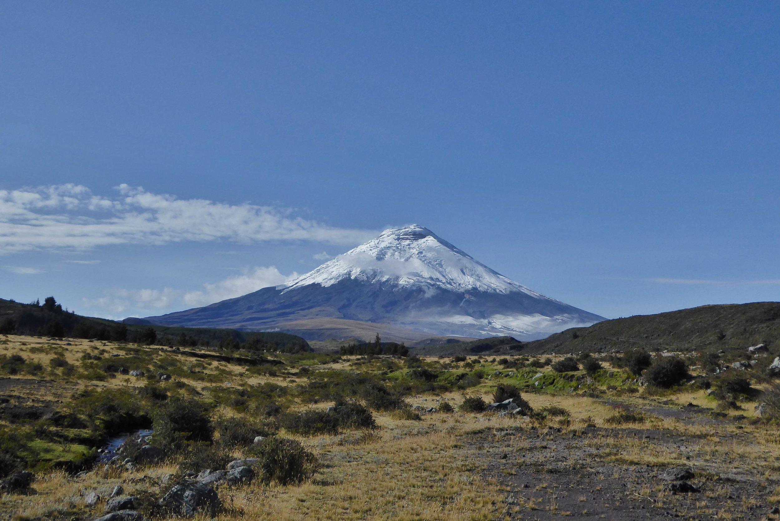Ecuador Volcanoes    Climb the mighty Cotopaxi at 19,347ft.