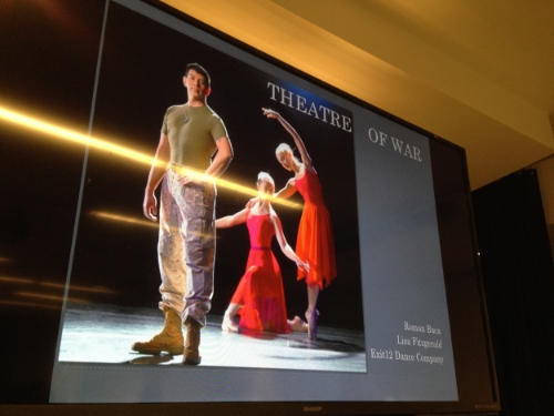 Theatre of War Lecture  Columbia Univeristy