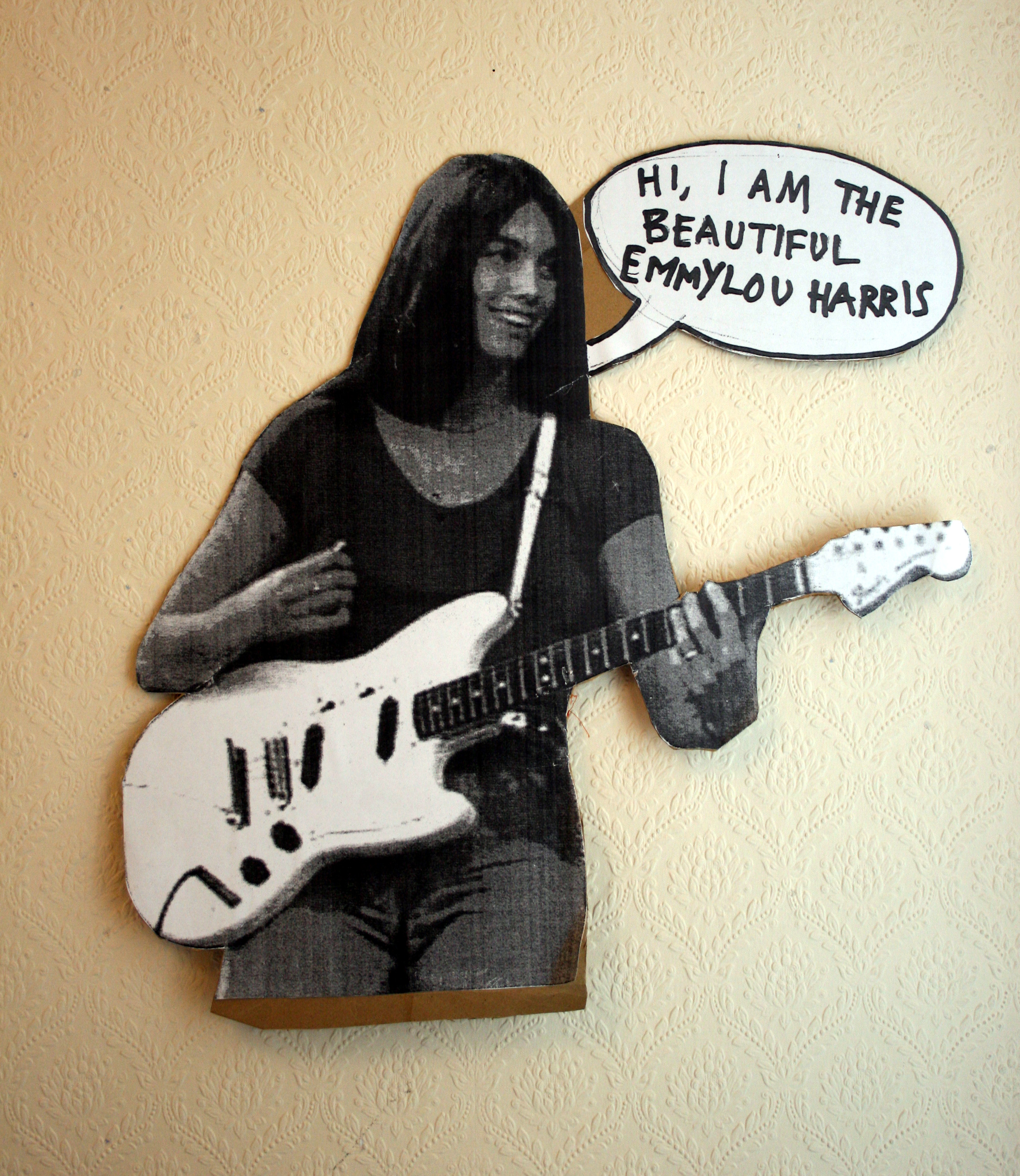 Randan Discotheque & The Cardboard Cut-out Band (Emmylou Harris)