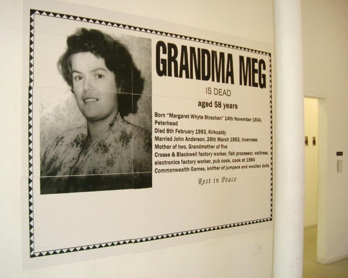 Untitled (Grandma Meg is Dead)