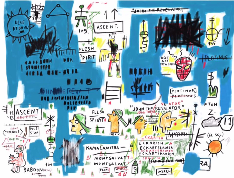 This is How I Copy Basquiat. How Do You Copy Basquiat? (still)