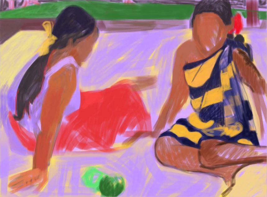 This is How I Copy Gauguin. How Do You Copy Gauguin? (still)