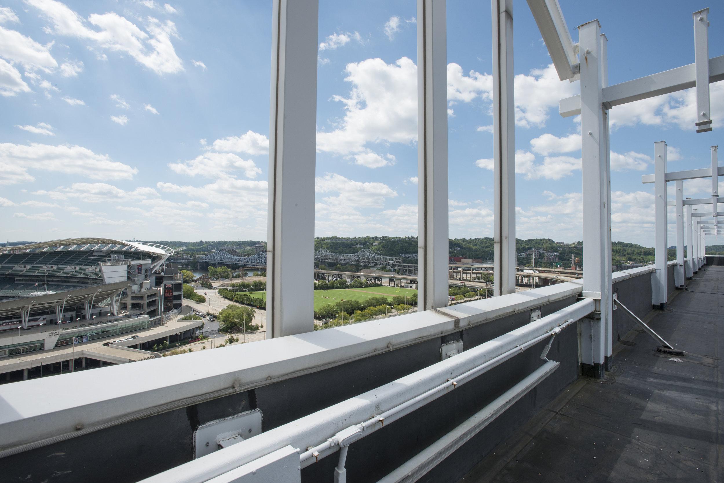 View of Paul Brown Stadium