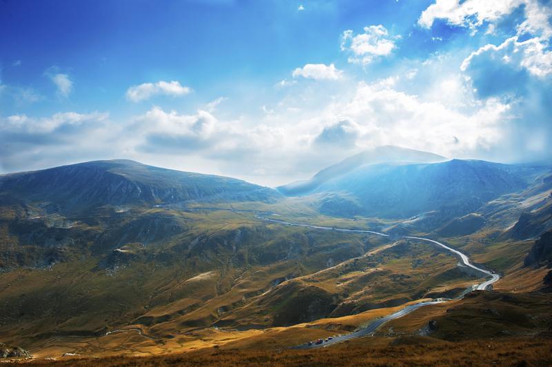 The Transalpina Highway
