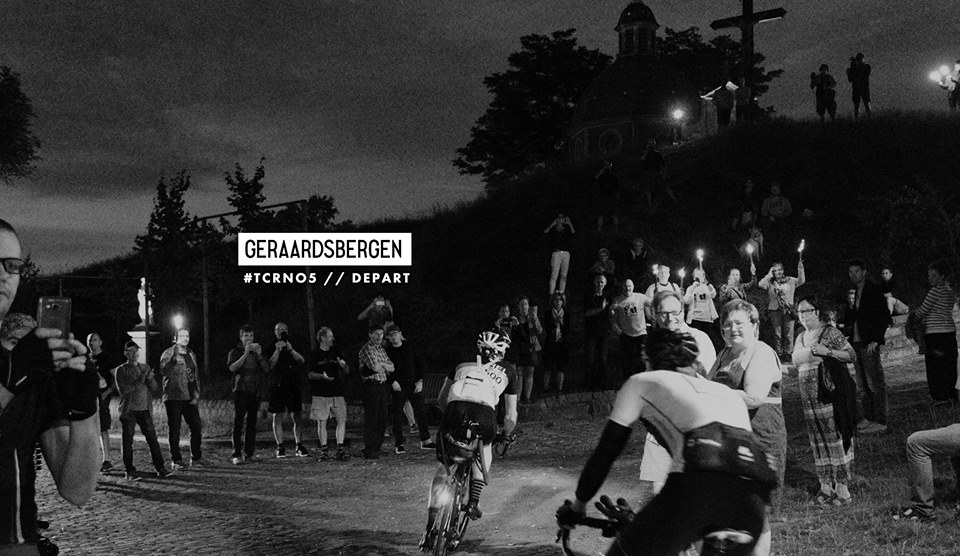 The start in Geraardsbergen, Belgium. Photo Credit: www.transcontinental.cc
