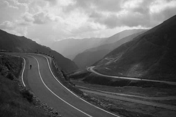 The Transfagarasan Highway in Transylvania, Romania. Picture via Apidura https://www.facebook.com/Apidura/
