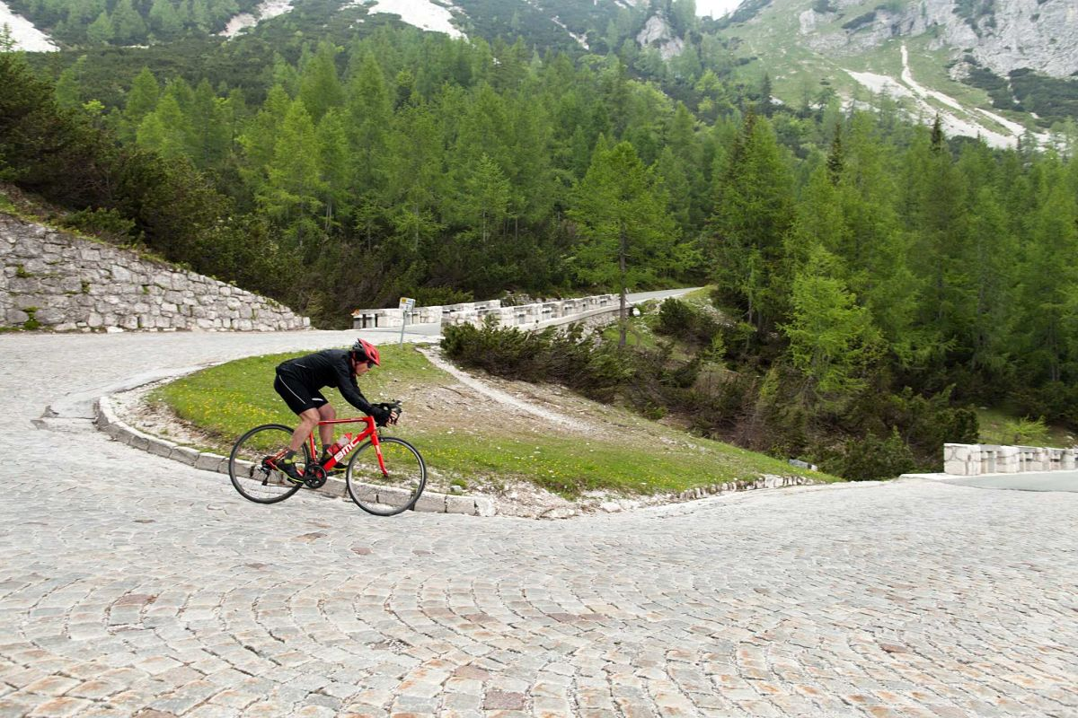 Cycling the Julian Alps in Slovenia