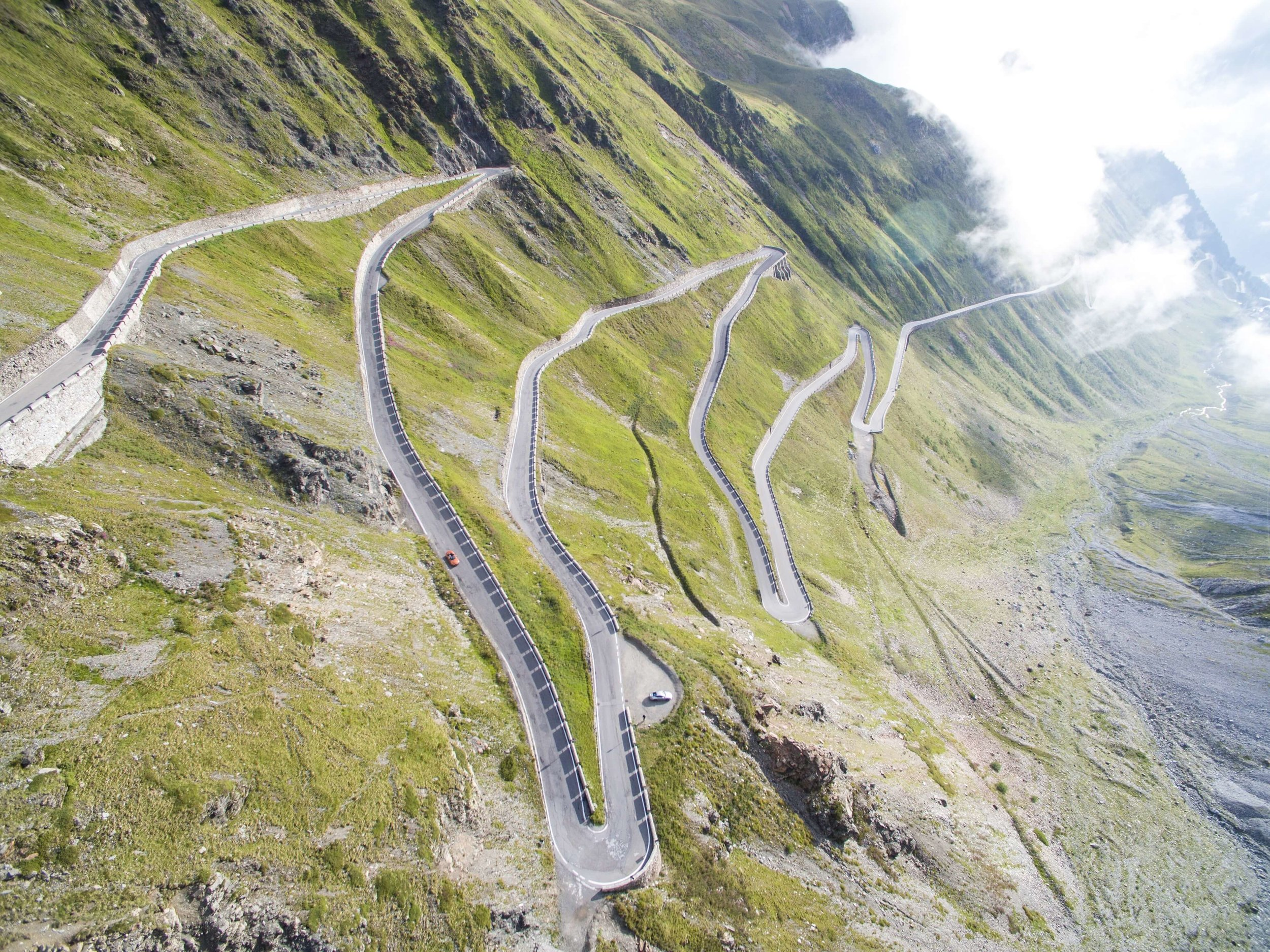 Stelvio Pass. Photo by  jean wimmerlin  on  Unsplash