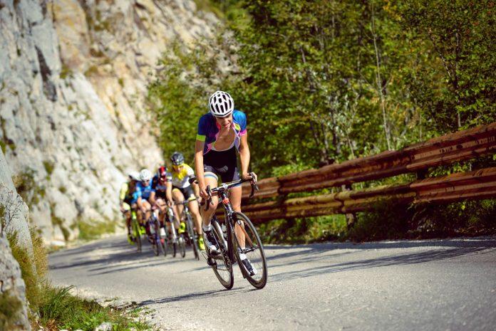 Cycling on the Ucka Climb. Copyright  King of Ucka