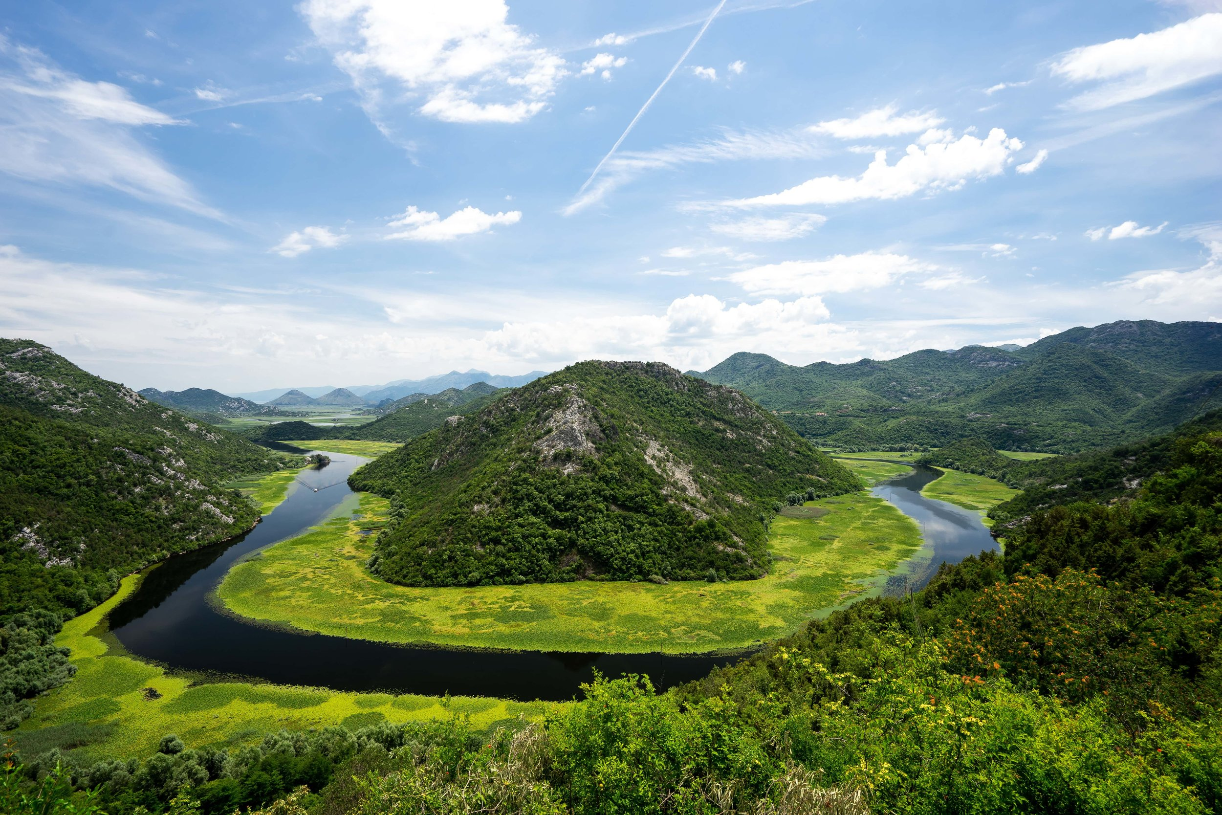 "Lake Skadar, Montenegro. Photo by  Boudewijn ""Bo"" Boer  on  Unsplash"