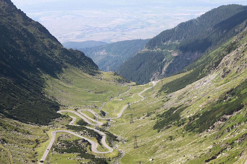 The one and only Transfagarasan climb in Romania.