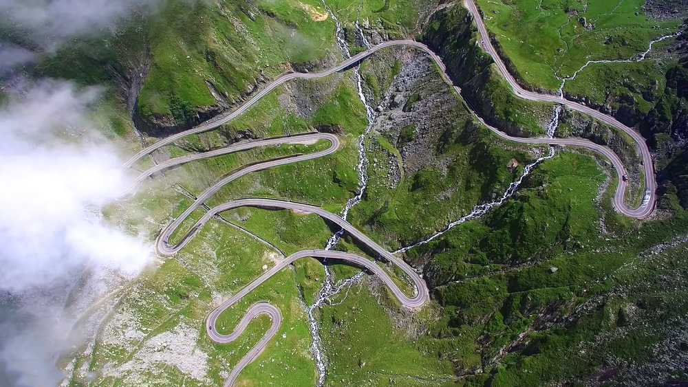 Transfagarasan again. The South Side.