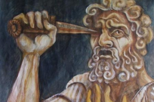 Horrifié d'avoir couché avec sa môman, Oedipe s'est crevé les yeux pour ne plus voir ses crimes. Dommage. Un dispositif l' occulus   rift  à 800 francs aurait permis d'atteindre le même résultat.