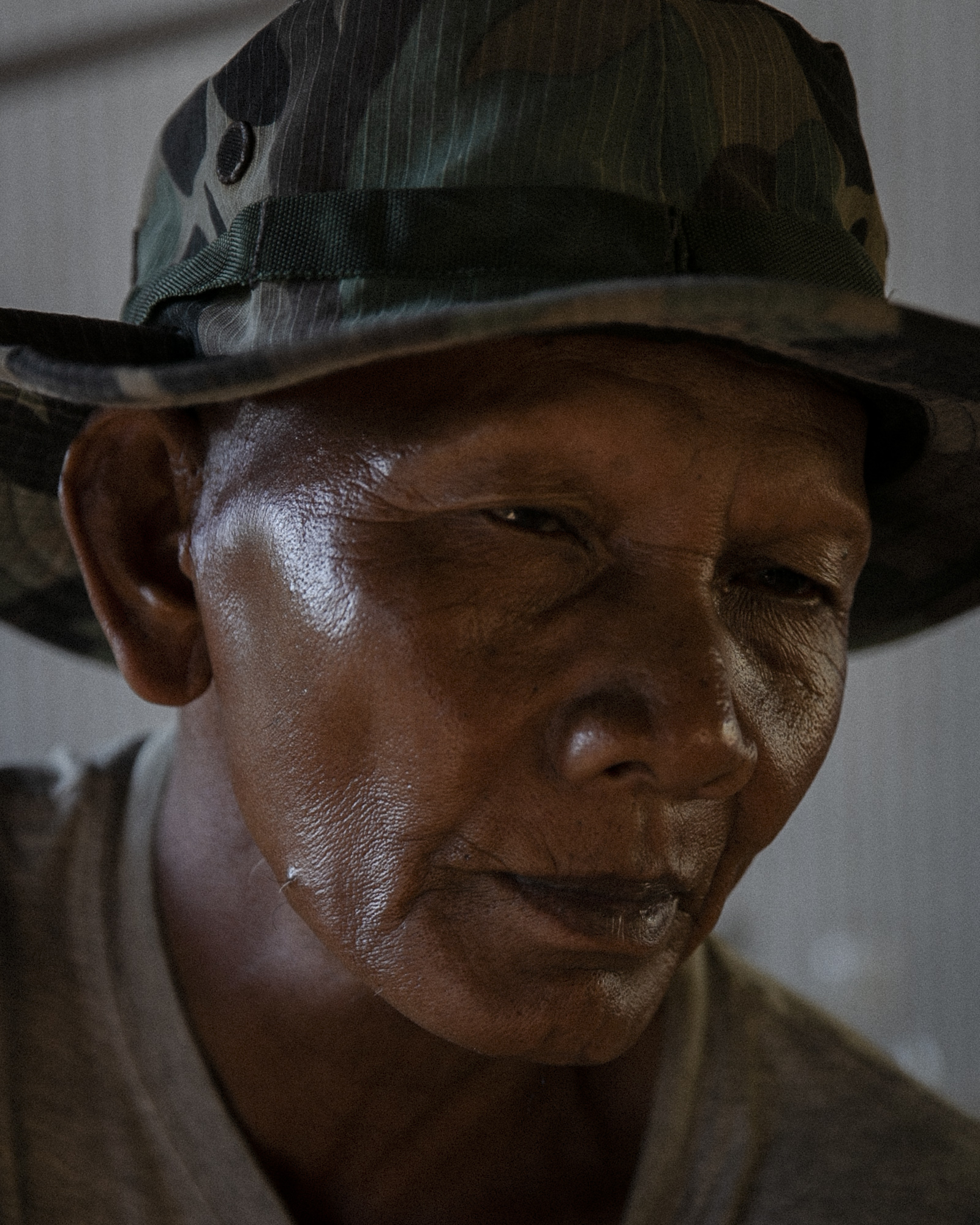 Former Khmer Rouge cadres living in Anlong Veng